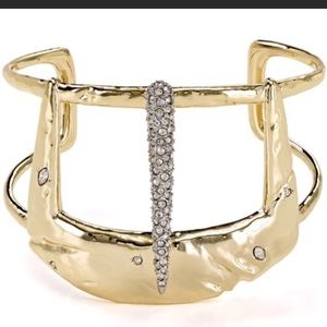Alexis Bittar Cuff with liquid gold and pave